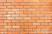 High Resolution Pictures Clean Orange Modern Pattern Of Brick Wall