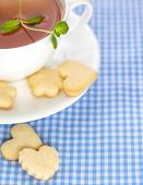Cup Of Tea And Sugar Cookies