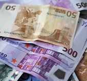 Euros,good background for business concept