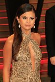 WEST HOLLYWOOD - MAR 2:: Selena Gomez at the 2014 Vanity Fair Oscar Party on March 2, 2014 in West Hollywood, California