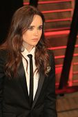 WEST HOLLYWOOD - MAR 2:: Ellen Page at the 2014 Vanity Fair Oscar Party on March 2, 2014 in West Hollywood, California