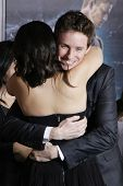 LOS ANGELES - FEB 2: Mila Kunis, Eddie Redmayne at the 'Jupiter Ascending' Los Angeles Premiere at TCL Chinese Theater on February 2, 2015 in Hollywood, Los Angeles, California