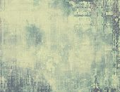 Vintage antique textured background. With different color patterns: yellow (beige); gray; green; black