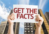 Get the Facts card with urban background