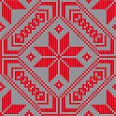 Belorussian Ethnic Ornament, Seamless Pattern. Vector Illustration