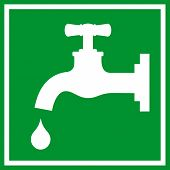 Water tap sign