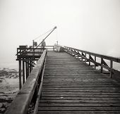 Pier at the Arctic