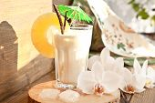 picture of pina-colada  - Pina Colada with pinapple and vanilla beans - JPG