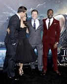 LOS ANGELES - FEB 2:  Channing Tatum, Mila Kunis, Sean Bean, David Ayala at the