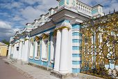 picture of tsarskoe  - Catherine Palace in Tsarskoe Selo suburb of St - JPG