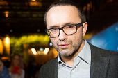 MOSCOW - JANUARY, 28: Film Director Andrey Zvyagintsev. Premiere of the movie Leviathan at Moscow Cinema,  January, 28, 2015 in Moscow, Russia