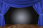 pic of stage theater  - Old fashioned - JPG