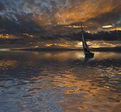 navegando en el crepusculo