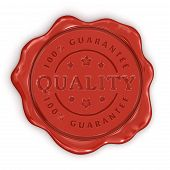 Wax Stamp Quality (clipping path included)