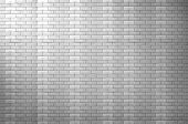 Background Of White Brick Wall Texture