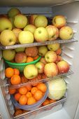 Fruits In The Fridge