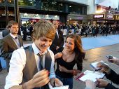 Thomas Law And Madeline Duggan At The Death And Life Of Charlie St Cloud Premiere In Central London