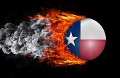 picture of texas state flag  - Concept of speed  - JPG