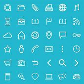 picture of home is where your heart is  - Vector set of line icons for your web design - JPG