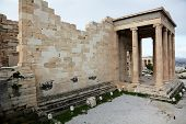 Erechtheum Is An Ancient Greek Temple