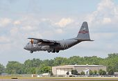 Ohio National Guard C-130 Cargo Airplane