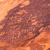 Petroglyphs At Valley Of Fire - Nevada