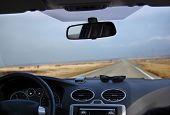 Inside Car View