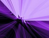image of laser beam  - Abstraction violet background for various design artwork - JPG