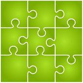 Green vector puzzle