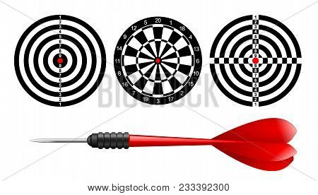 Classic Dart Board Target Set