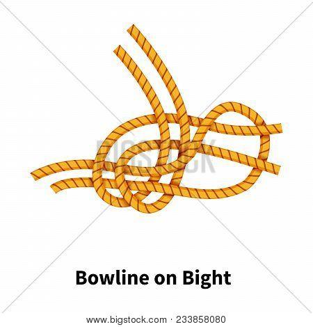 Bowline On Bight Sea Knot