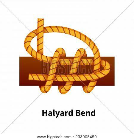 Halyard Bend Sea Knot Bright