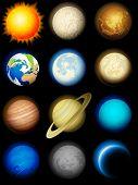Solar System-Icons