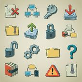 Freehands icons - computer security