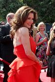 LOS ANGELES - SEP 10:  Mary McDonnell arriving at the Creative Arts Emmys 2011 at Nokia Theater  on