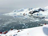 Alimirante Brown Station In Antarctica