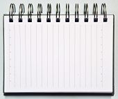 White Paper Notebook