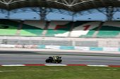 SEPANG, MALAYSIA - FEBRUARY 2: MotoGP rider Colin Edwards of the Monster Yamaha Tech 3 Team practice