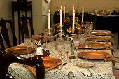 Festive Holiday Tabletop