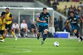 BUKIT JALIL - JULY 13: Arsenal's Robin van Piersie sees action in the second half against Malaysia o
