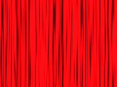 Red Curtains Contrast