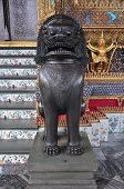 statue at wat phra kaew, thailand