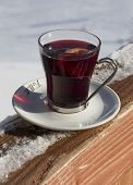 Cup Of Hot Wine