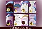 Bussines Card Set