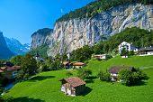 Lauterbrunnen, Staubbach Falls, Switzerland