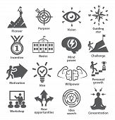 Business Management Icons Pack 41 Icons For Leadership, Career, Strategy poster