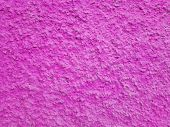 Сoncrete Pink Plastered Wall. Bright Pink Plastered Wall Texture Grunge Background. Beautiful Decora poster