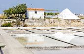 saline in Troncalhada, Beira, Portugal