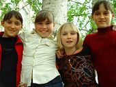 picture of sissy  - happy school girls - JPG