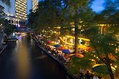 SAN ANTONIO, TX - AUG 13: The San Antonio River Walk in San Antonio, Texas on August 13, 2011.  The